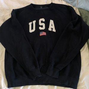Oversized brandy melville USA sweatshirt